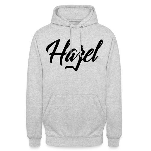 Logo Hazel png - Sweat-shirt à capuche unisexe