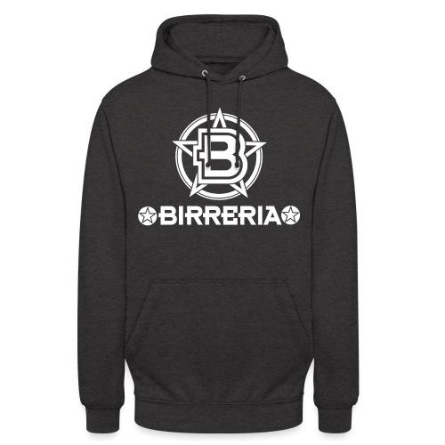 Logo Birreria 2021 white - Unisex Hoodie