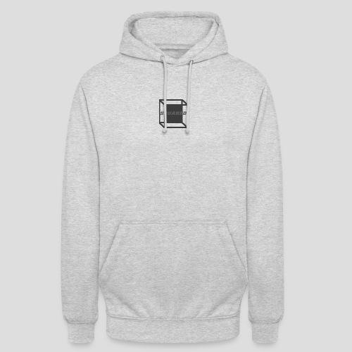 Squared Apparel Black / Gray Logo - Unisex Hoodie