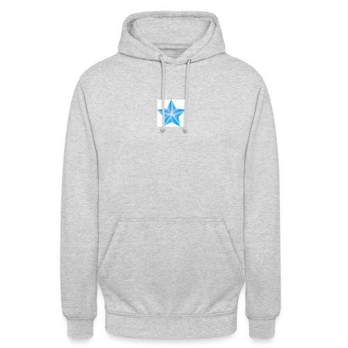 blue themed christmas star 0515 1012 0322 4634 SMU - Unisex Hoodie