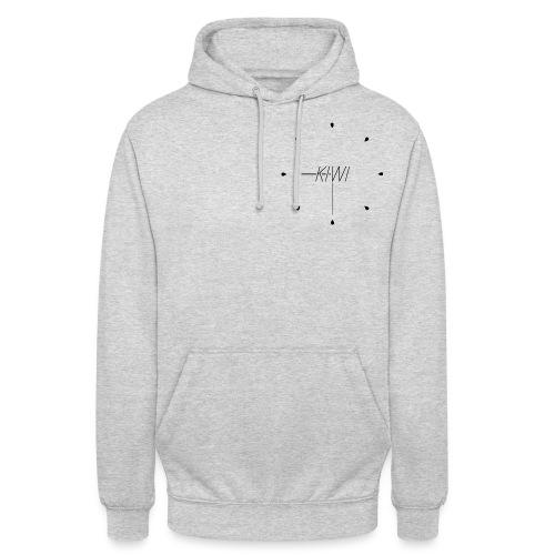 Kiwi O Clock - Sweat-shirt à capuche unisexe
