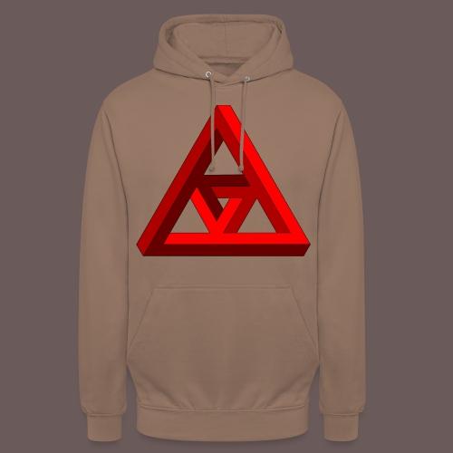 Triangle - Hættetrøje unisex