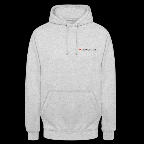 DarkCulture Streetwear logo - Felpa con cappuccio unisex