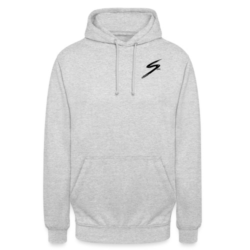 Logo Szer noir - Sweat-shirt à capuche unisexe