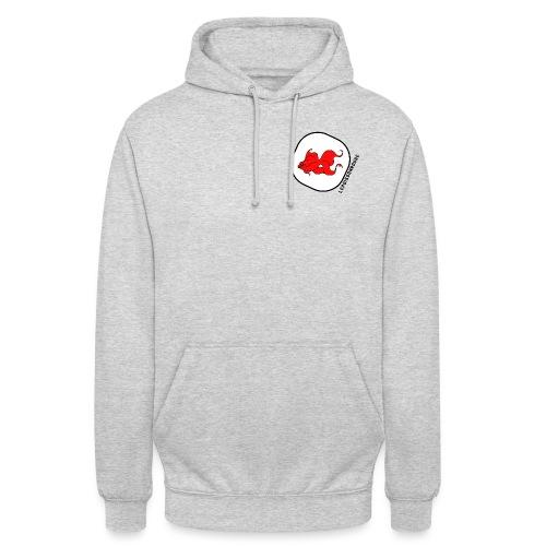 Lepoissonrouge - Sweat-shirt à capuche unisexe