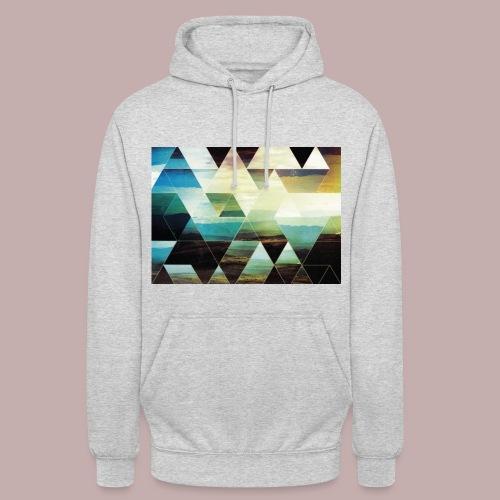 triangle - Sweat-shirt à capuche unisexe