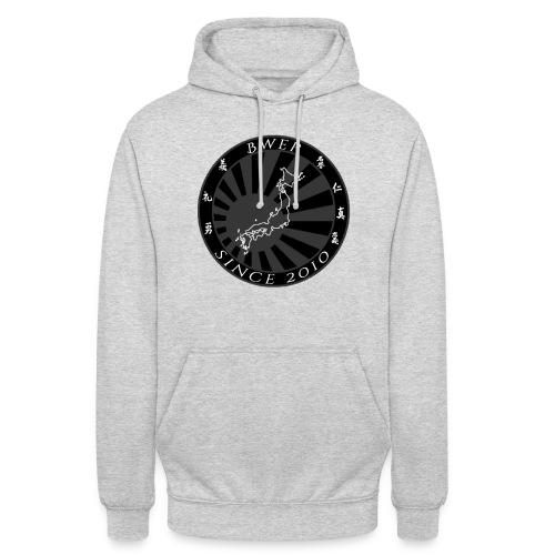 BWEP Imperial Noir/Blanc - Sweat-shirt à capuche unisexe