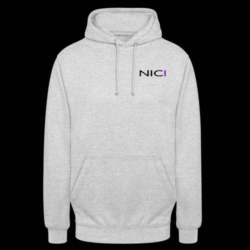 "NICI logo Black - Huppari ""unisex"""