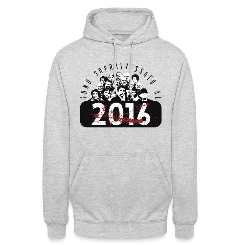 La tshirt del 2016 M - Felpa con cappuccio unisex