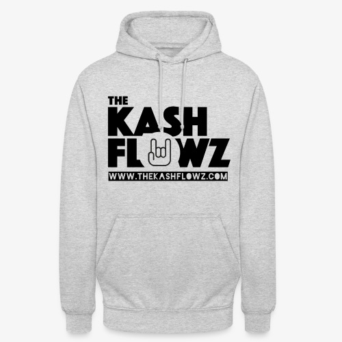 The Kash Flowz Official Web Site Black - Sweat-shirt à capuche unisexe