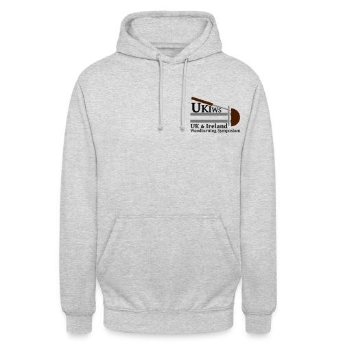 SMALL- NoDate -UKIWS-Logo - Unisex Hoodie