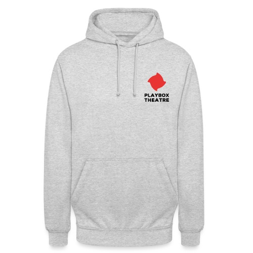 Red Playbox Logo Stacked - Unisex Hoodie