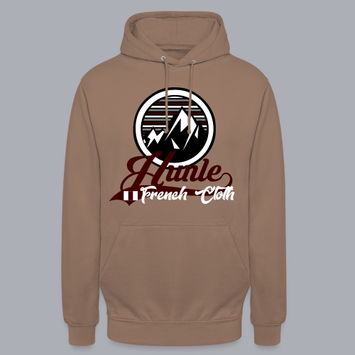 Hunle Graphic Mountain N°1 - Sweat-shirt à capuche unisexe