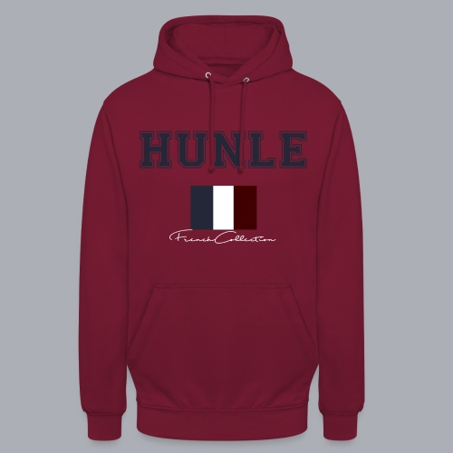 hunle French Collection n°1 - Sweat-shirt à capuche unisexe