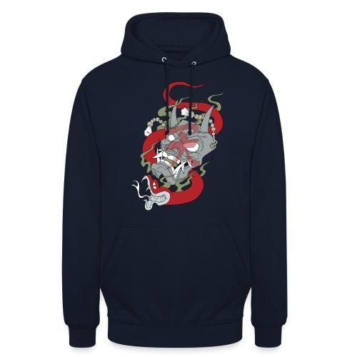 Démon - Sweat-shirt à capuche unisexe