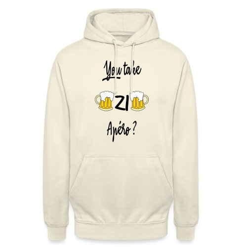 You take zi apéro ? - Sweat-shirt à capuche unisexe