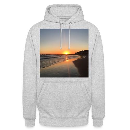 coucher de soleil - Sweat-shirt à capuche unisexe