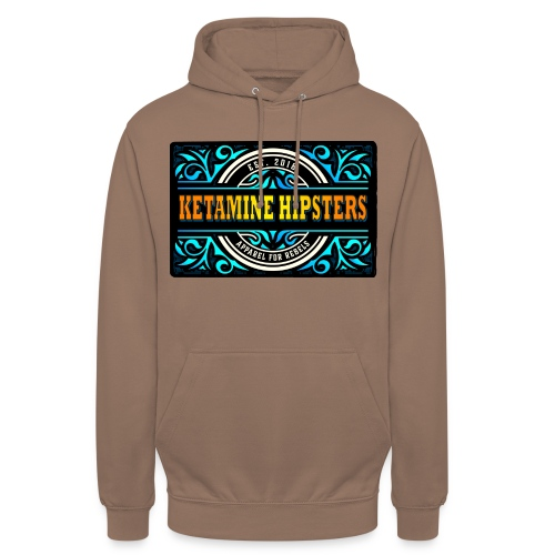 Black Vintage - KETAMINE HIPSTERS Apparel - Unisex Hoodie