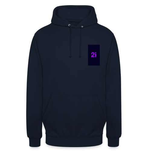 2i - Sweat-shirt à capuche unisexe
