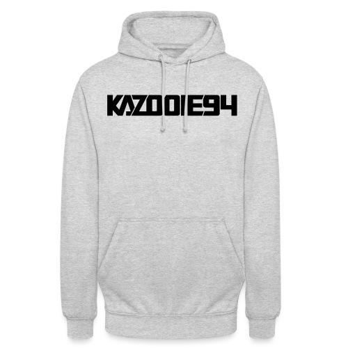 Kazooie94 text logo - Unisex Hoodie