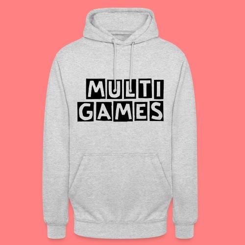 Multi Games Zwart - Hoodie unisex