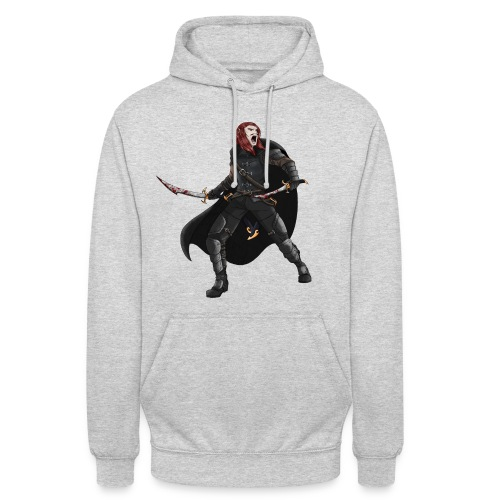 Warrior Elf - Sweat-shirt à capuche unisexe