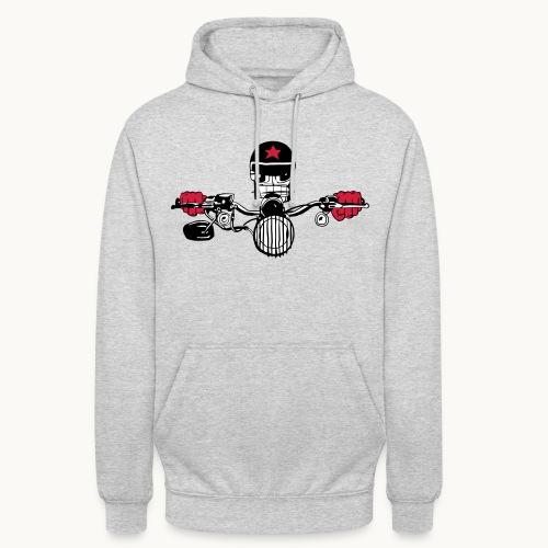 Motard Micky on the Road - Sweat-shirt à capuche unisexe
