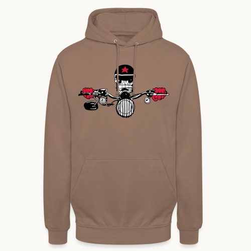 Motard Micky on the Road - Sweat-shirt à capuche unisexe