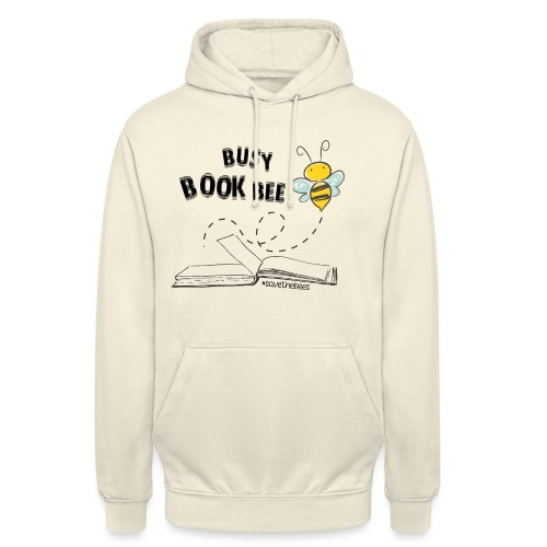Bees5 - Bees and Books | save the bees - Unisex Hoodie