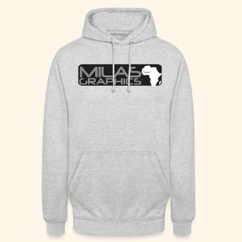 Milas Graphics Africa - Sweat-shirt à capuche unisexe