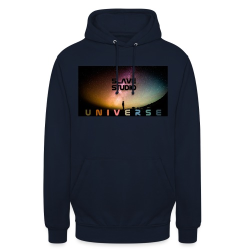 Universe - Felpa con cappuccio unisex