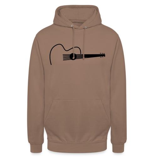 Accoustic Guitar Draw - Unisex Hoodie