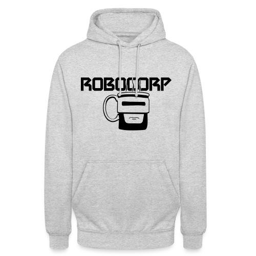 Robo corp - Bluza z kapturem typu unisex