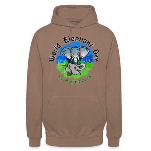 World Elephant Day 2018 - Unisex Hoodie