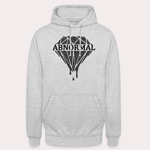 ABNORMAL BLACK LOGO OFFICIAL png - Unisex Hoodie