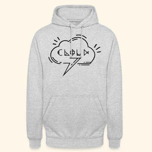 logo-cloud-nb-3 - Sweat-shirt à capuche unisexe