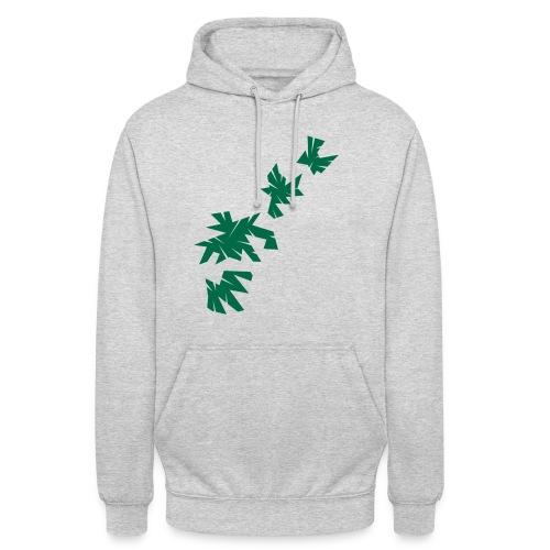 Green Leaves - Unisex Hoodie