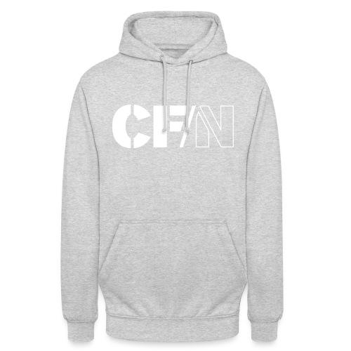 CFN White Grey - Luvtröja unisex