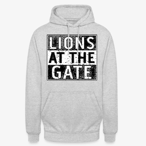 LIONS AT THE GATE BAND LOGO - Hoodie unisex