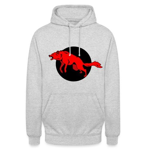 Red Wolf - Unisex Hoodie