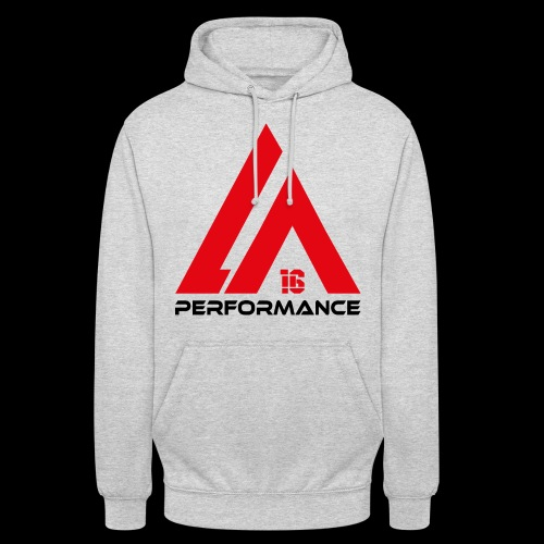 LA Performance red/black - Unisex Hoodie