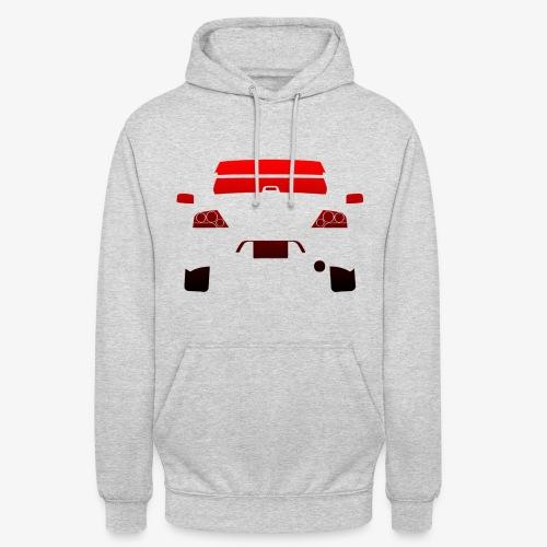 Lanevo9 - Sweat-shirt à capuche unisexe