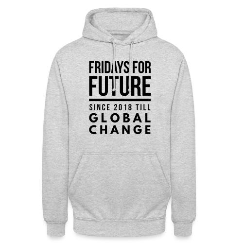 Fridays for Future till GlobalChange RescueTheBlue - Unisex Hoodie