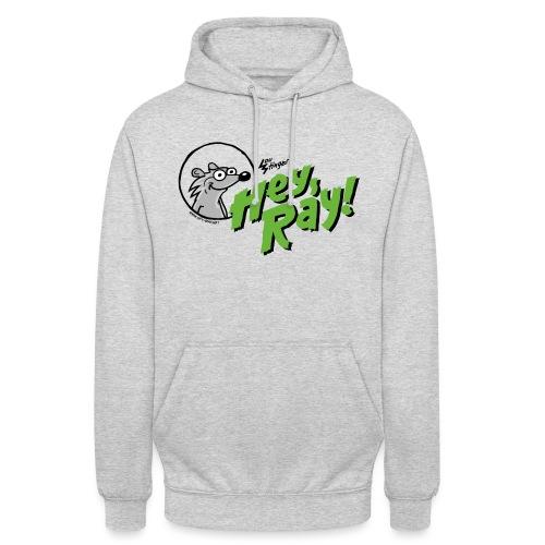 Hey Ray Logo green - Unisex Hoodie