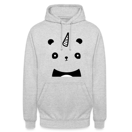 Pandacorne - Sweat-shirt à capuche unisexe