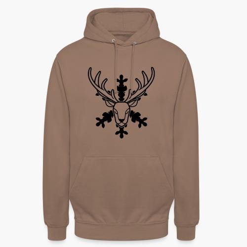 Le Cerf Féerique - Sweat-shirt à capuche unisexe