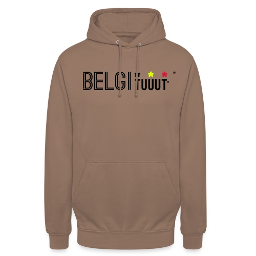 belgituuut - Sweat-shirt à capuche unisexe