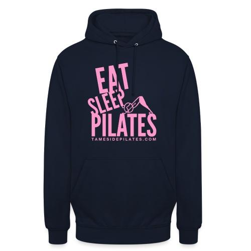 eat sleep pilates 2019 pink - Unisex Hoodie