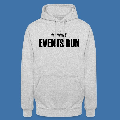Events Run - Sweat-shirt à capuche unisexe
