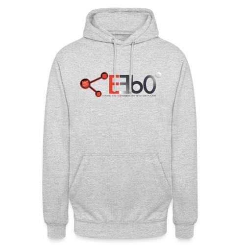 Nuovo Logo E360 slogan png - Felpa con cappuccio unisex